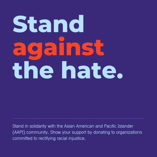 StopAsianHate - Stand against the hate